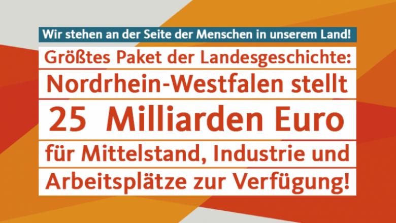 Corona: NRW handelt und informiert!