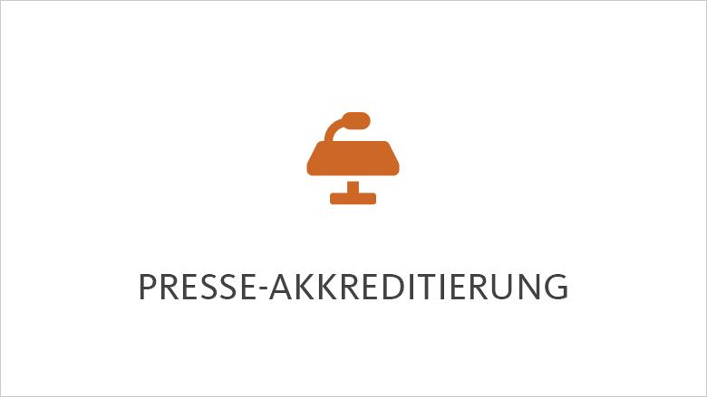 Presseakkreditierung